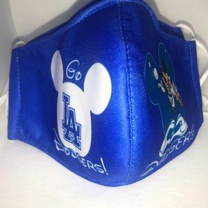 Dodger Mickey Face Mask